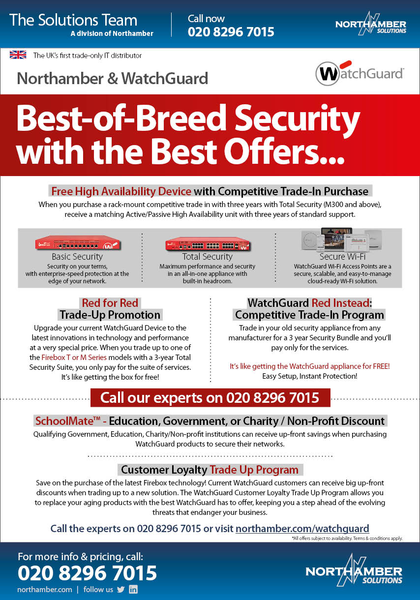 Best-of-Breed Security with the Best Offers