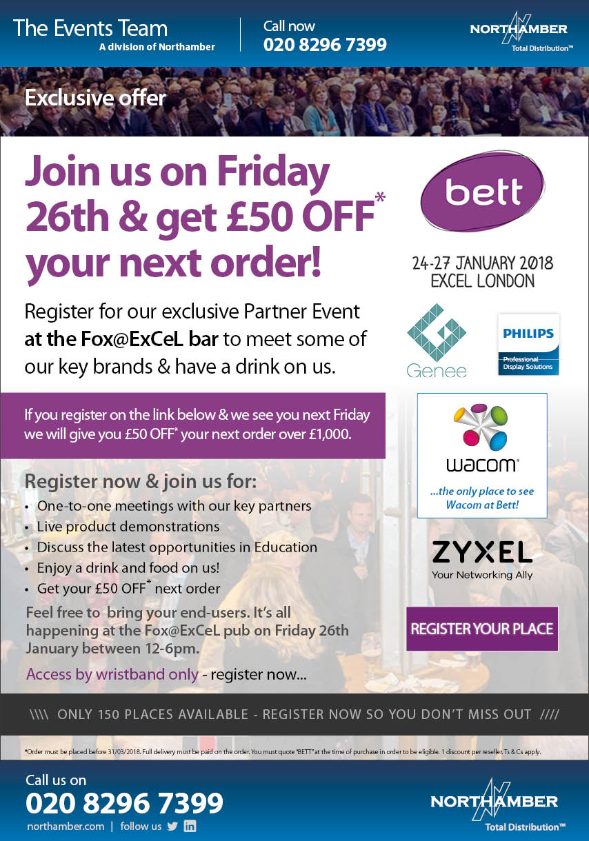 Going to Bett – don't miss this exclusive offer