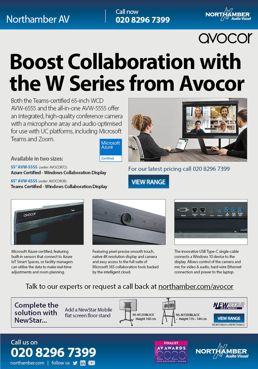 "The 65"" Windows collaboration display is the world's first to be certified for Microsoft Teams"